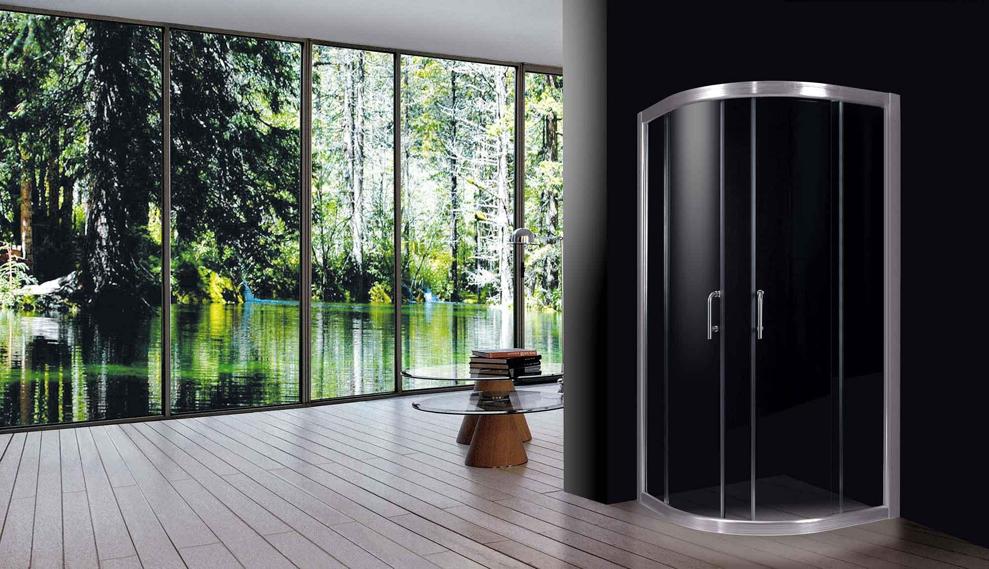 Il vetro nel bagno mobili box doccia accessori fratelli