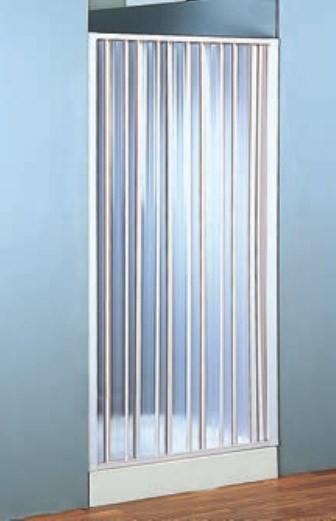 Porta a soffietto in pvc per doccia ad estensione - Porta a soffietto per doccia ...