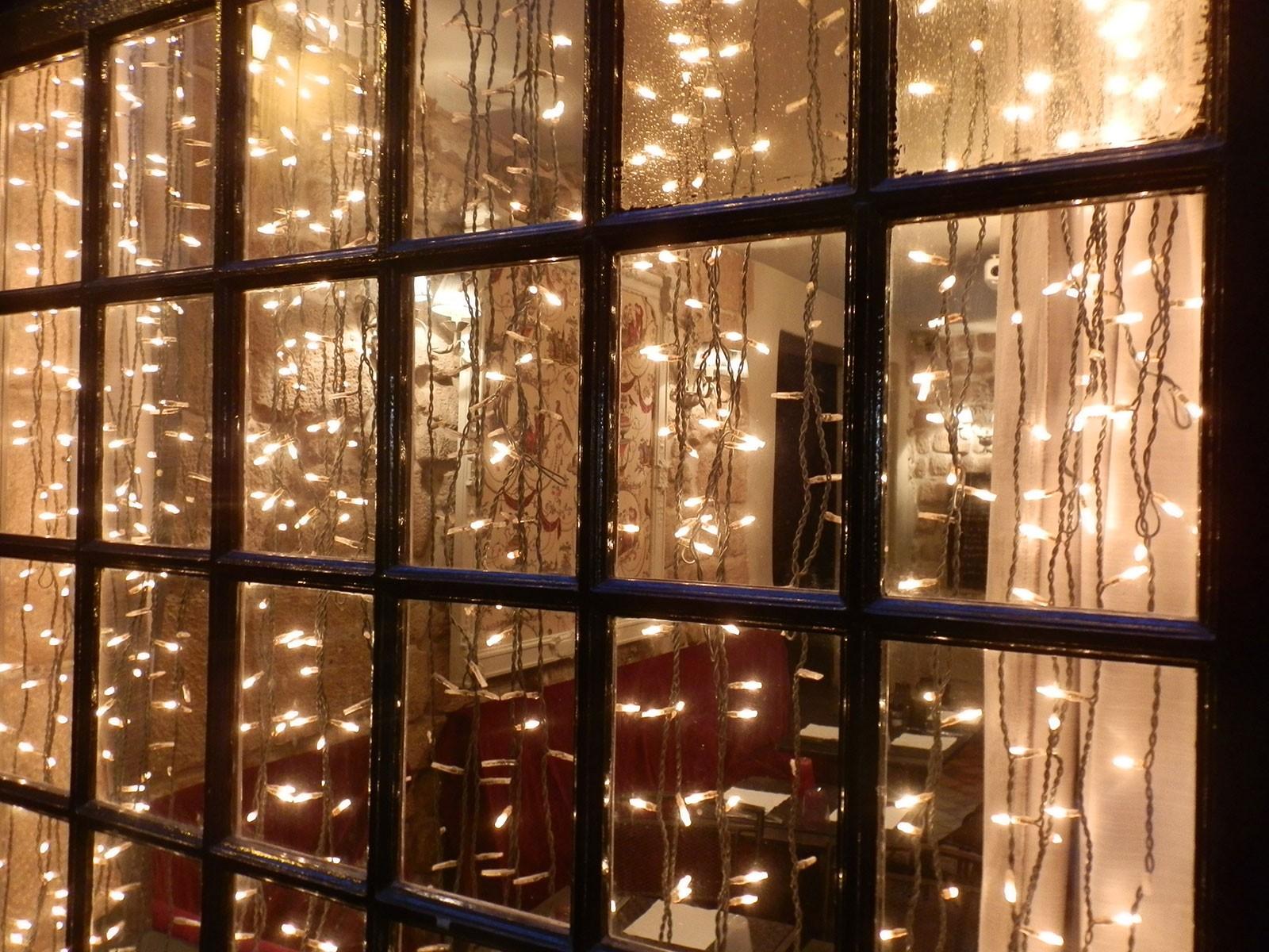Tenda luminosa luci led bianco con controller e giochi di