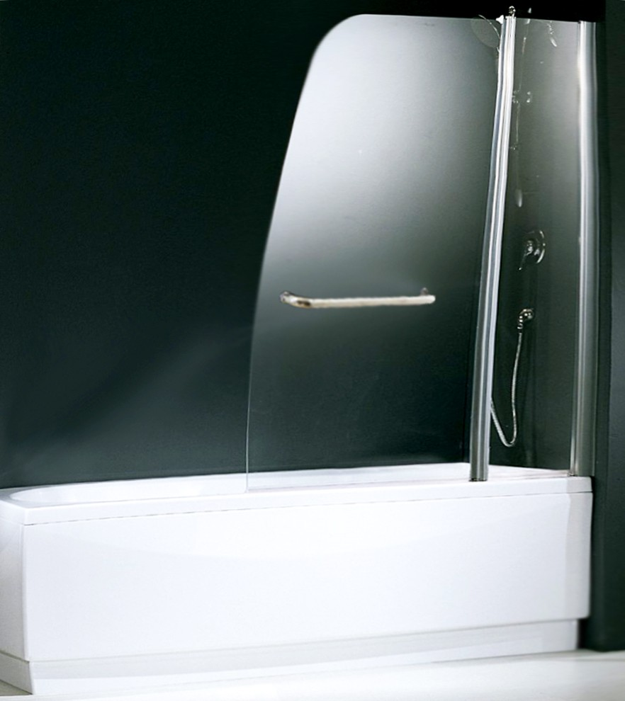 Parete vasca in cristallo 6 mm dimensioni cm 120x140h box arredo bagno pareti vasca arredo - Vasca bagno dimensioni ...