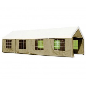 Gazebo Big Royal m. 4x10 struttura in acciaio top e telo in poliestere - arredo giardino
