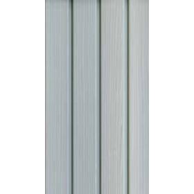 Kit armadio 3 ante in resina effetto legno Terry Mod. C-Wood con vano portascope cm. 102x39x170h - arredo casa ufficio balcone garage condominio