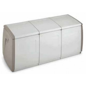 Cassapanca Terry in resina antiurto Mod. Box 140 cm. 140x54x57h - arredo casa giardino