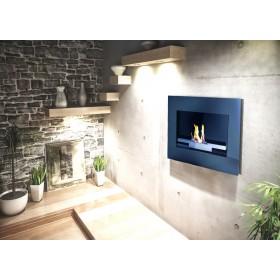 Stufa ecologica a bioetanolo da incasso o parete 3.5 kW/h Mod. A700 - riscaldamento arredo casa design