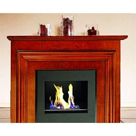 Caminetto a bioetanolo rivestito in legno 3.5 kW/h Mod. A180 - riscaldamento arredo casa design camino