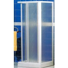 Cabina doccia in crilex ad estensione regolabile cm 68/78 x 78/88 Mod. STANDARD - box arredo bagno