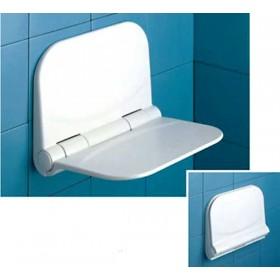 Sedile ribaltabile in resina per doccia portata 120 kg- Gedy Portata 120 kg