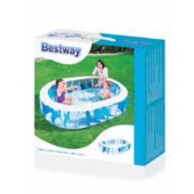 Piscina gonfiabile Bestway ovale cm. 152x234x51H Mod. 54066 - fuoriterra arredo giardino