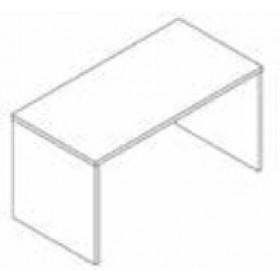 Scrivania Composad rovere tartufo cm. 69x178x74.5h Linea Disegno - arredo casa ufficio