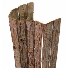 Frangivista in corteccia naturale cm. 300x150h per giardino balcone cancello recinzione