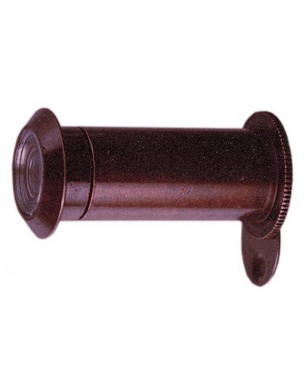 Spioncino 3 lenti visibilità 180° finitura bronzo ø 16 lungh 40÷60