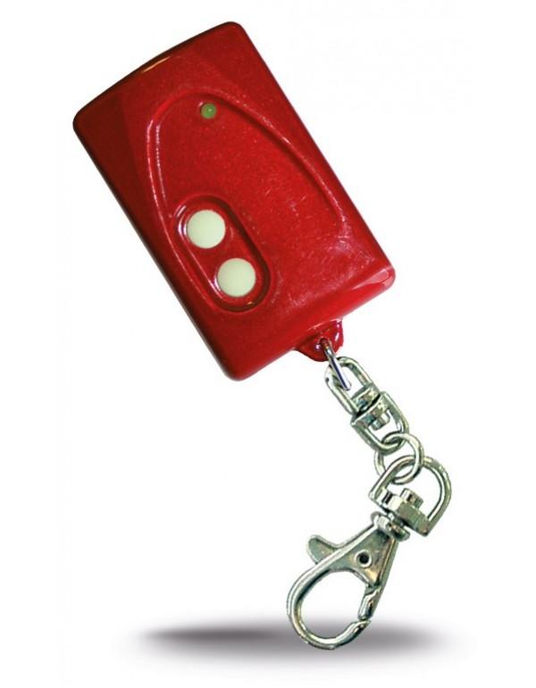 Radiocomando quarzato SICETECH 2 tasti colore rosso Mod PRINZ