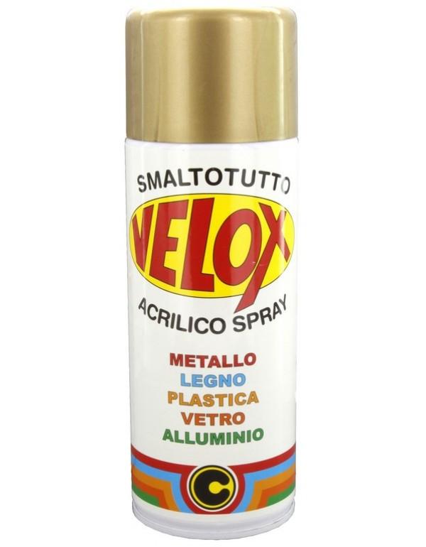 Spray smalto effetto oro moderno conf 6 bombolette da 400 ml