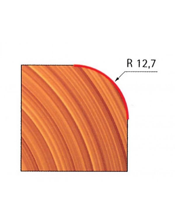Fresa a raggio concavo Freud-pro mm 12.70 per legno - Art. 34-11606