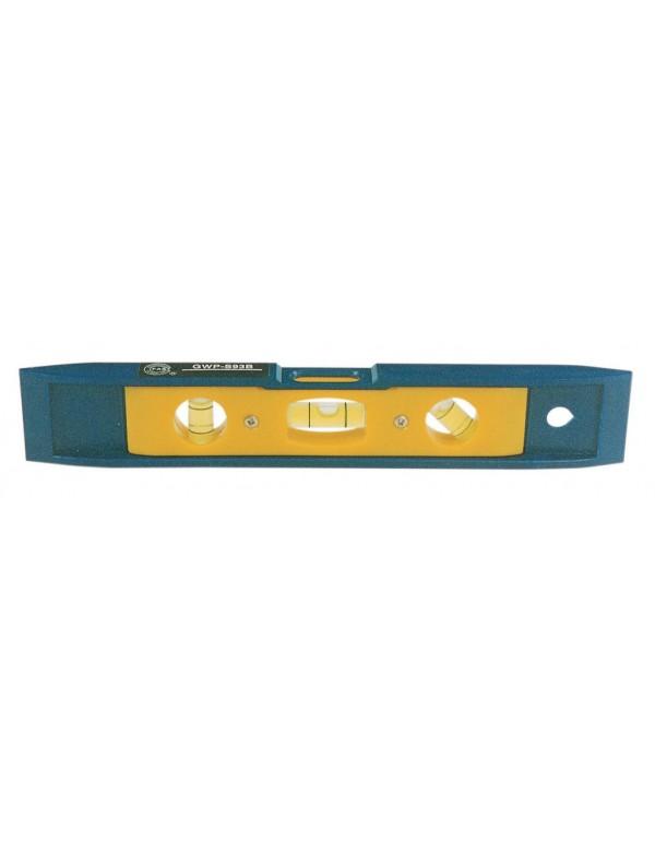 Livella magnetica in ABS antiurto lunghezza 23 cm Mod GWS - 93B