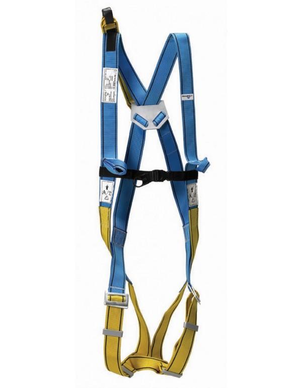Imbracatura anticaduta kit di protezione a norma sicurezza lavoro