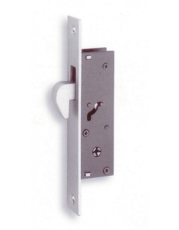 Serratura verticale profilati FIAM completa accessori Art 304K