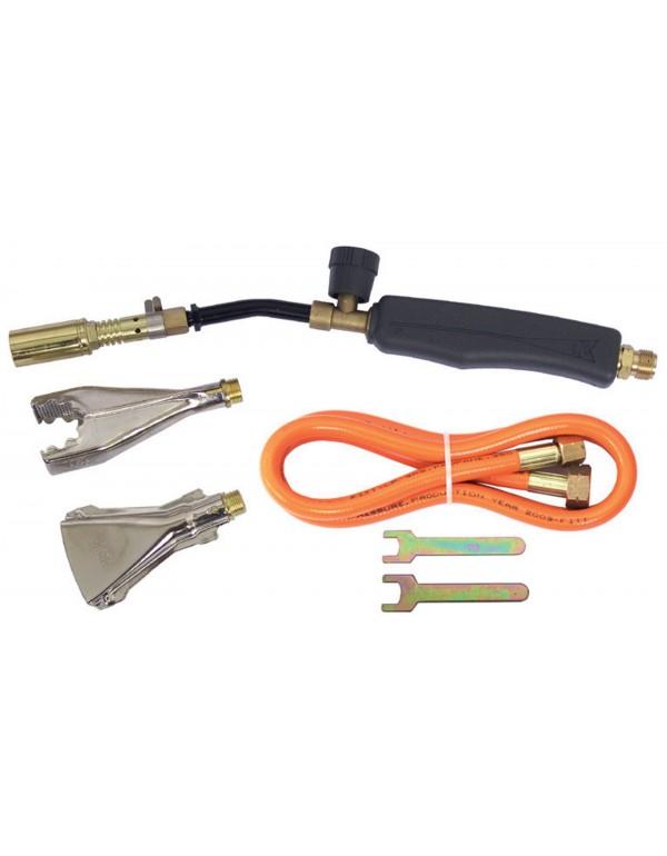 Kit completo saldobrasatura PRO-JECT completo di tubo e bruciatori