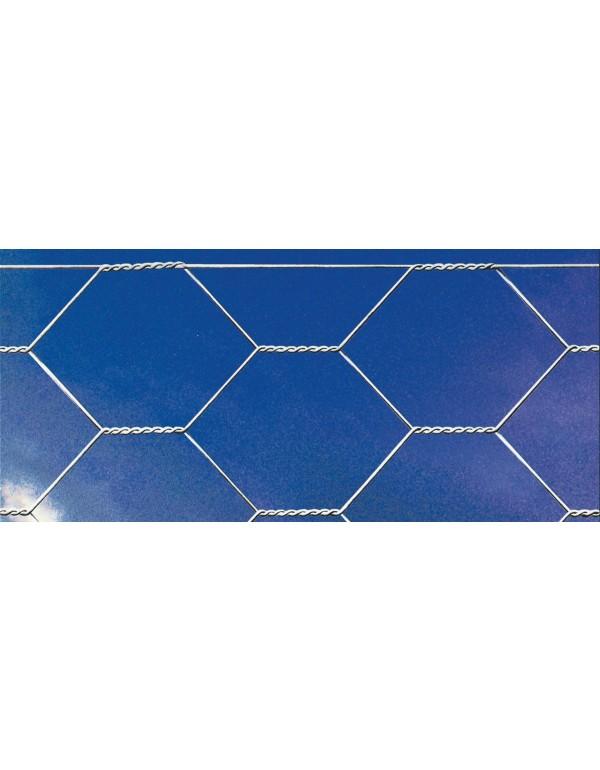 Rete tripla torsione maglia saldata altezza cm 120 rotolo 50 m F16