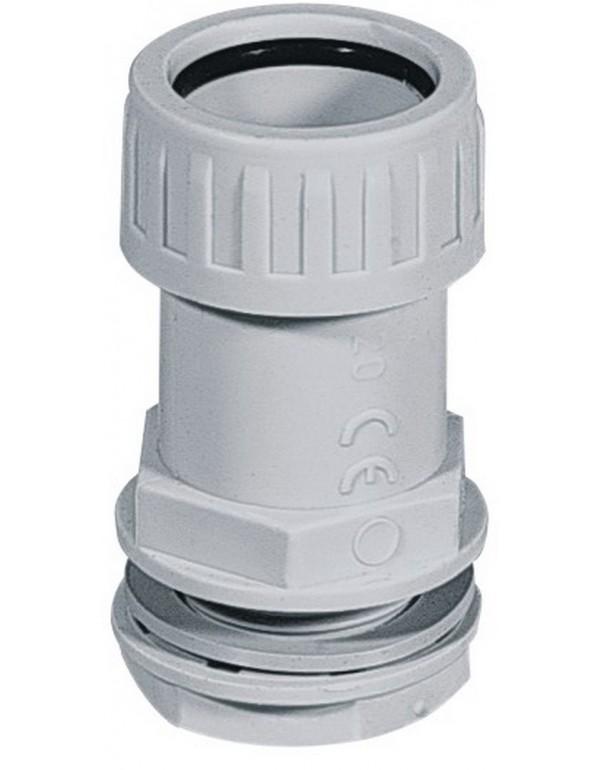 Bloccatubo IP 65 connessione scatola derivazione ø 25 mm conf. 2 pz