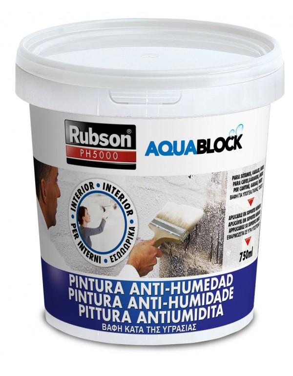 Pittura antiumidità RUBSON by HENKEL conf 750 ml Mod PH5000