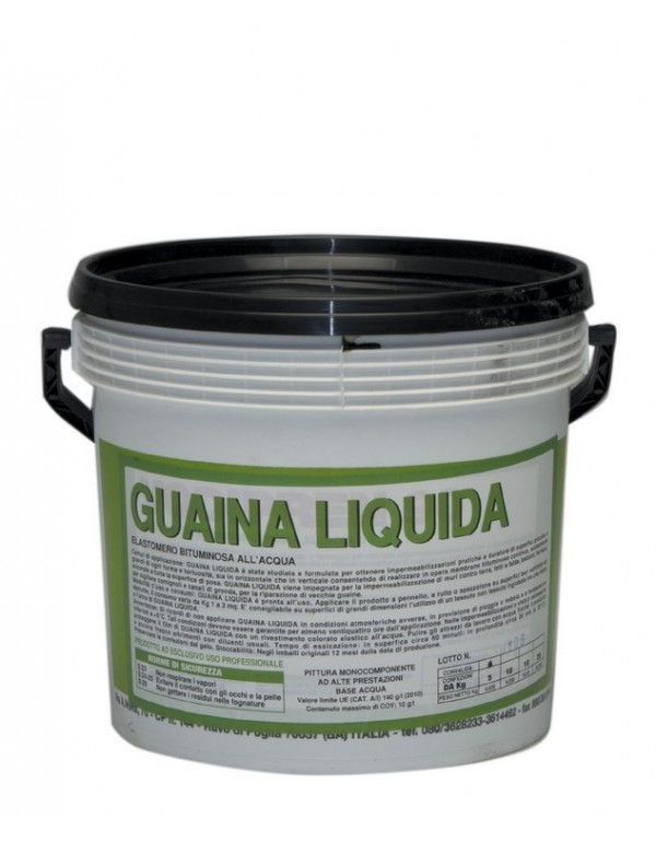 Guaina liquida bituminosa nera VODICHEM confezione 20 kg