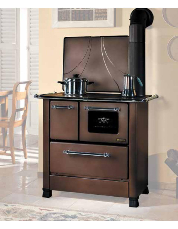 Nordica Cucina A Legna.Cucina A Legna Nordica Mod Romantica 4 5 Rustic 6 0 Kw 172 M Stufa Riscaldamento Casa Arredo Interni