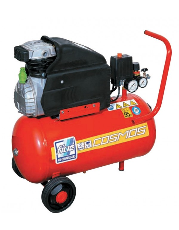 Compressore elettrico 24 litri FIAC motore 2 Hp - Mod. COSMOS 225