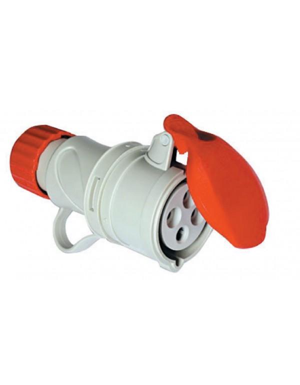 Adattatore industriale FME presa 16A 2P+T tensione 380V Art 71.104