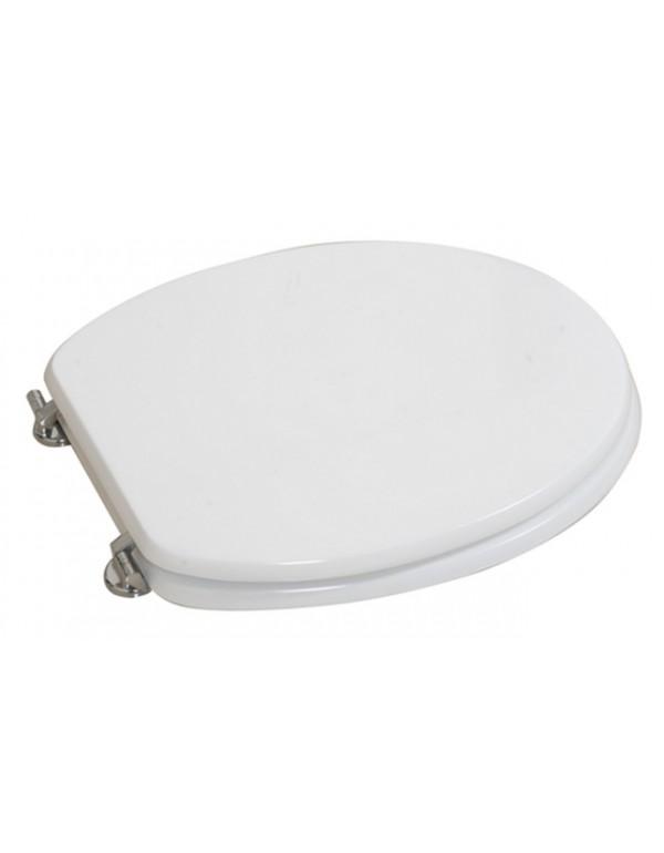 Coprivaso universale bianco in legno laccato cm 37x45 - Mod. FUTURA