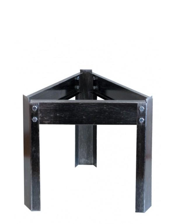 Treppiedi base in acciaio per fusti olio contenitori inox 20÷50 l