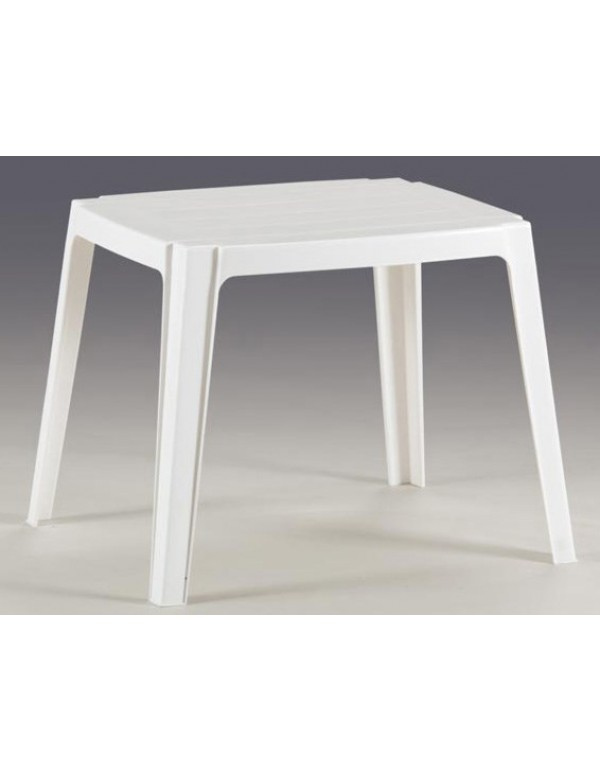 Tavolo Mod. Arredo Baby in resina bianca sedia per bambini - arredo casa giardino