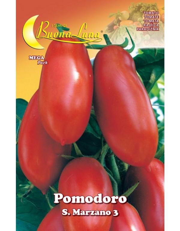 Semi orto Pomodoro S. Marzano conf 10 pezzi agricoltura giardinaggio