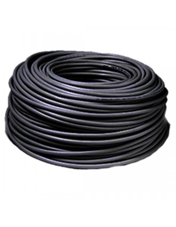 Cavo elettrico multipolare flessibile nero bobina 10 m sezione 2x1
