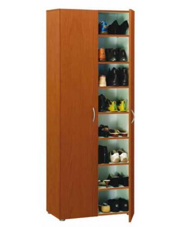 Armadio scarpiera a 2 ante e 5 ripiani colore ciliegio cm - Mobili color ciliegio ...