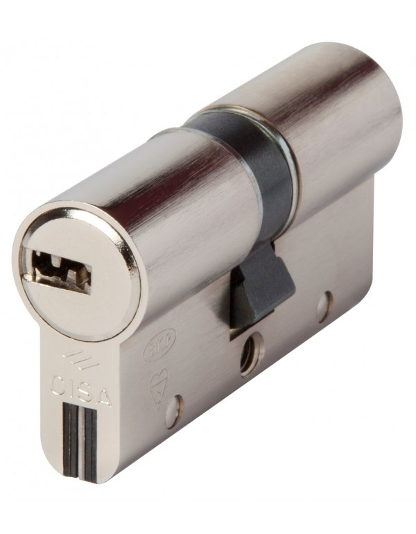 Cilindro sicurezza CISA cifratura 10 perni con 3 chiavi Mod ASTRAL/S mm 40.70