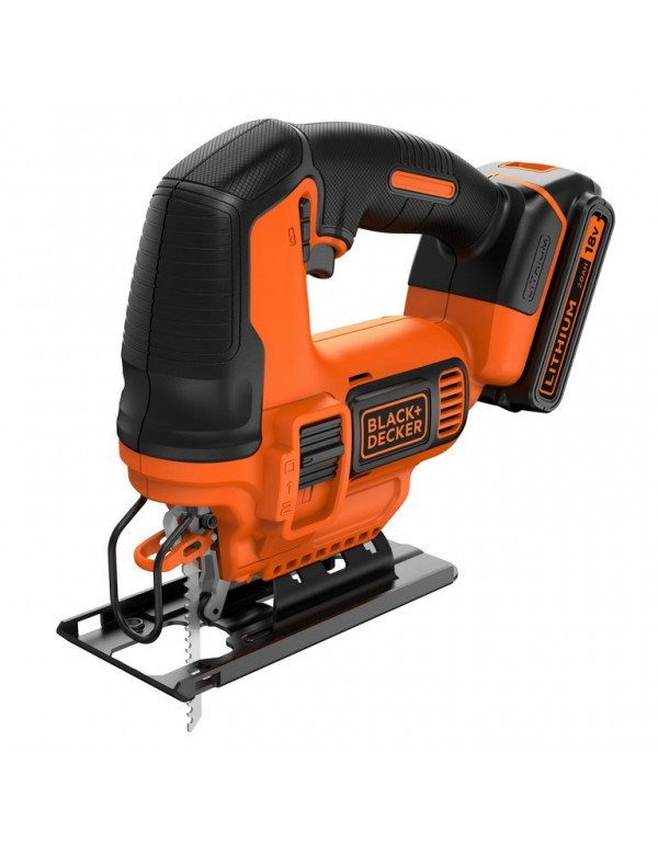 Seghetto alternativo BLACK&DECKER batteria litio 18 V Mod BDCJS18