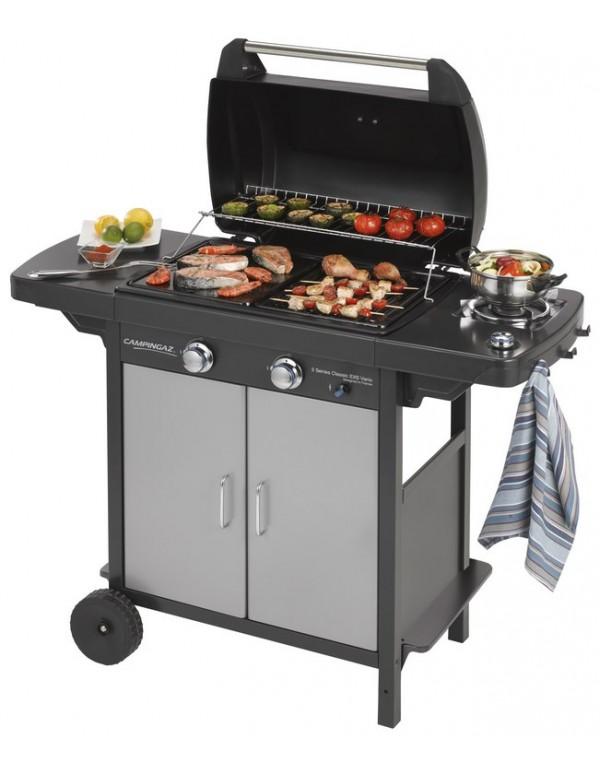 Barbecue a gas CAMPINGAZ struttura in acciaio Mod 2 SERIES CLASSIC EXS VARIO