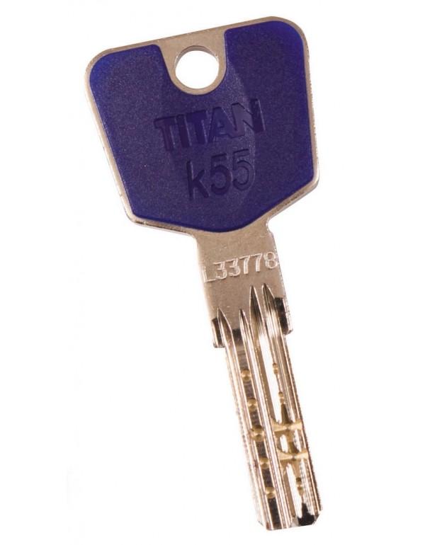 Chiavi grezze CR semilavorate per cilindro K55 Art K55-01