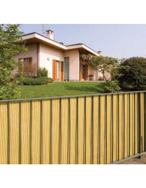 Set Da Giardino In Bamboo.Arelle Doppie Bamboo In Pvc Colore Verde Cm 300x100h Per Giardino