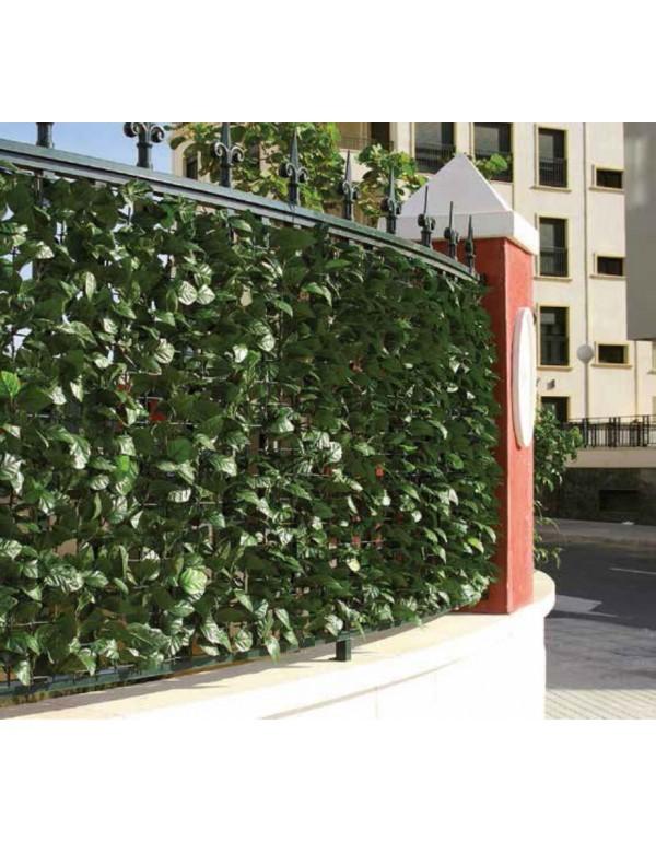 Arelle sempreverdi Lauro in polipropilene cm. 300x150h per giardino balcone cancello recinzione