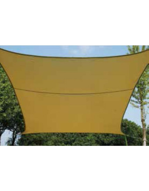 Vela ombreggiante quadrata cm. 500x500 in poliestere 180 g/mq - arredo casa giardino ombrellone gazebo