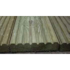 Pavimento a listoni  con superfice a doppia faccia in legno di pino cm. 12x250 - arredo casa giardino