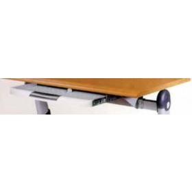 Portatastiera universale per tutti i tipi di scrivania con portamouse estraibile - arredo casa ufficio