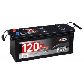 Batteria auto POWER 120 Ah spunto 940 A - Mod MV+ LONG LIFE