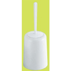 Portascopino bagno Gedy Art. 8034 in resina bianco cm. 33 - Mod. JUNIOR