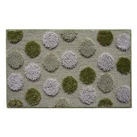 Tappeto bagno verde cm. 50X80 - Mod. IOS