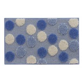Tappeto bagno azzurro cm. 50X80 - Mod. IOS