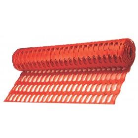 Rete da cantiere TENAX in plastica arancione h 180 cm rotolo da 50 m