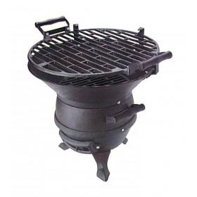 Barbecue a Carbonella Mod. Lampo struttura in ghisa - arredo casa giardino